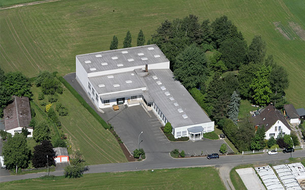 Our Company - the breastshaping competence center in the heart of europe in schwarzenbach germany from above