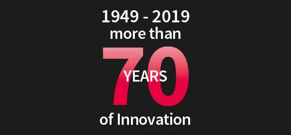 MUEHLMEIER is Cclebrating more than 70 Years of high level innovation and proven quality and reliability